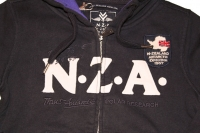 NZA New Zealand HW 2010/11 Kaputzen Sweatjacke navy purple