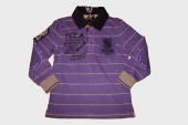 NZA New Zealand HW 2010/11 Polo Sweatshirt Longsleeve purple