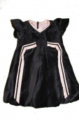 Noa Noa miniature Kleid velvet phantom